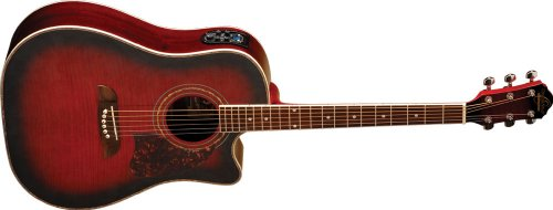 Oscar Schmidt OG2CE Dreadnought Cutaway Acoustic-Electric Gu