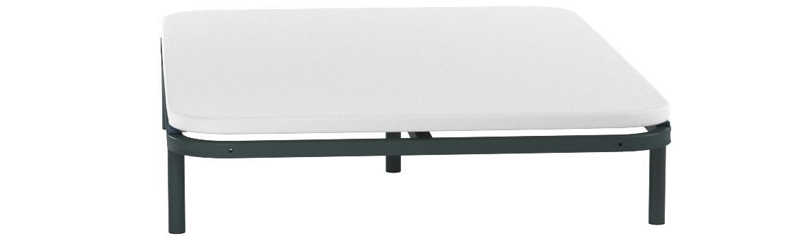 HOGAR24 ES Somier Multiláminas con Reguladores Lumbares, 135x200 cm (5 Patas de 32 cm Incluidas)