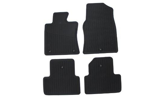 Acura Tl Floor Mats - Genuine Acura Accessories 08P13-TK4-210 Black All-Season Floor Mat