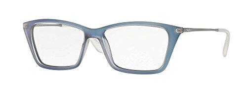 Ray-Ban Matthew Eyeglasses RX7022 5496 Iridescent Azure 54 14 - Optical Ray Retailers Ban