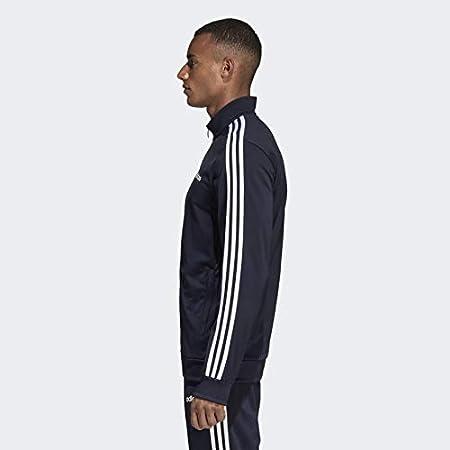 Adidas mens Essentials 3-Stripes Tricot Track Jacket Jacket