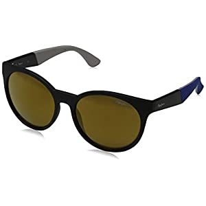 Pepe Jeans Sunglasses Sarina, Occhiali da Sole Donna, Nero (Black/Brown), 55.0