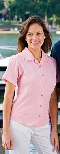 Inner Harbor Ladies' Fine Bedford Cord Camp Shirt (Black) ()