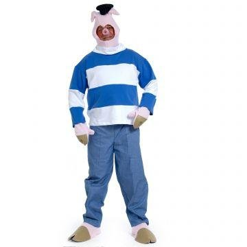 Three Little Pig Costumes (Little Pig 3 - Adult Costume)