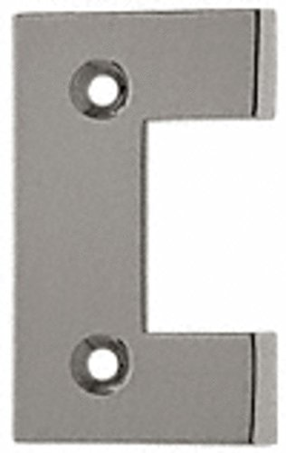 - C.R. LAURENCE G2BN CRL Brushed Nickel Geneva Series Standard Cover Plate for the Door Side