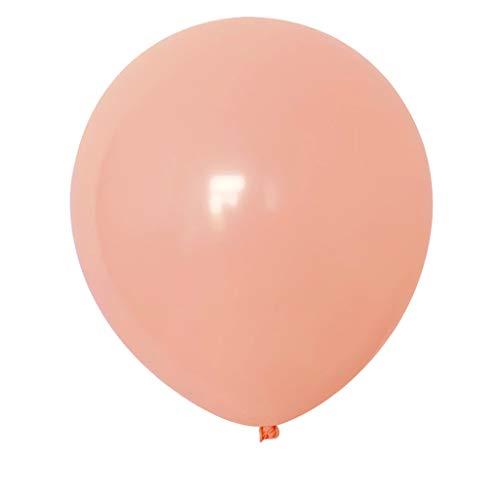 Weiliru 10 Inch Thick Round Birthday Party Wedding Arrangement Balloon Color,100PCS