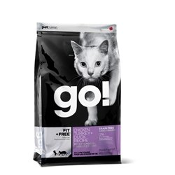 PETCUREAN 152332 Go Fit and Free Grain Free Chicken/Tk/Dk for Pets, 16-Pound