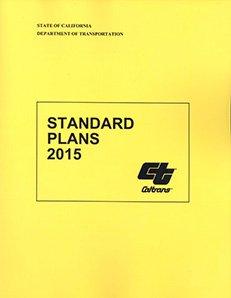 Caltrans Standard Plans 2015