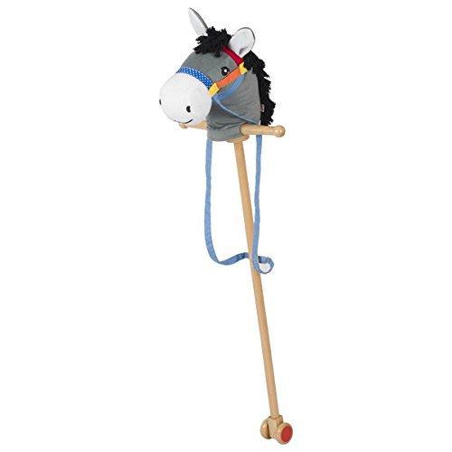 Goki Donkey Hobby-Horse ''Emyl'' Outdoor Stick Horse
