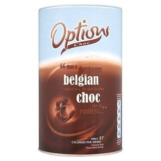 Options Belgian Choc 825G X Case Of 6 by Options