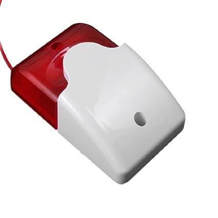 Amazon.com: eDealMax Rojo Blanco 12 voltios de corriente ...