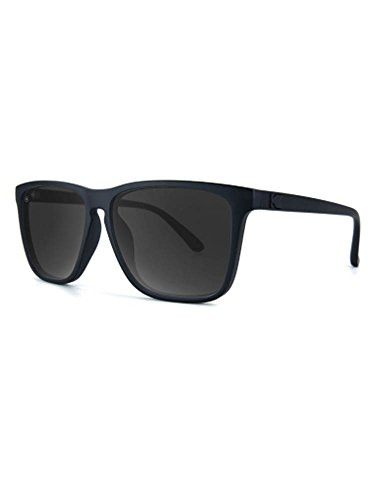 Knockaround Fast Lanes Non-Polarized Sunglasses, Black on Black / - Mens Sunglasses Stylish