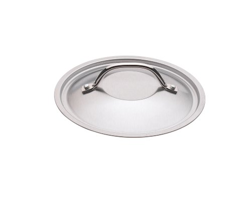 Nordic Ware Restaurant 6 inch Brushed Stainless-Steel Lid