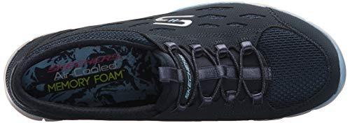 Skechers on Womens Navy Gratis Blue Slip Sneakers Breezy City w46wZxqra