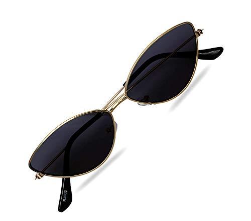 Black Eagle Imported cat eye metal small frame unisex glasses (women girls)
