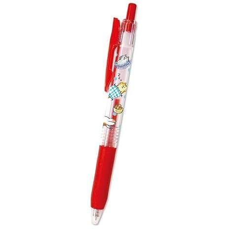 Mind Wave Bolígrafo de tinta de gel boli rojo con graciosos gatos de Japón: Amazon.es: Hogar
