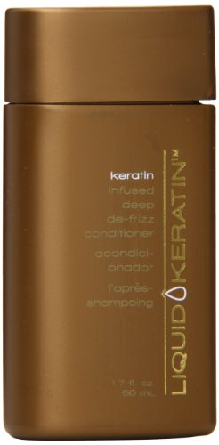 Liquid Keratin Travel Size Conditioner, 1.7 Ounce -