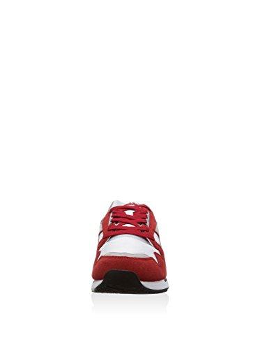 Diadora Zapatillas I.C. 4000 Nyl Blanco / Rojo Oscuro EU 40.5 (7 UK)