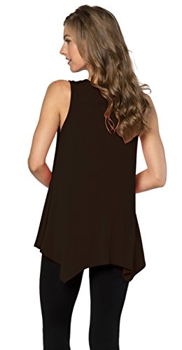 Velucci-Womens-Tunic-Tank-Top-T-Shirt-Loose-Basic-Sleeveless-Tee-Shirt-Blouse