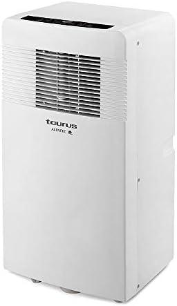 Taurus AC 3100 KVKT acondicionado 4 en 1, climatizador, ruedas, 2600 fg, 2400 kcal, aire 320 m3/h, deshumidificador 31 L/24 h, kit ventana, blanco, Con Calor: Amazon.es: Hogar