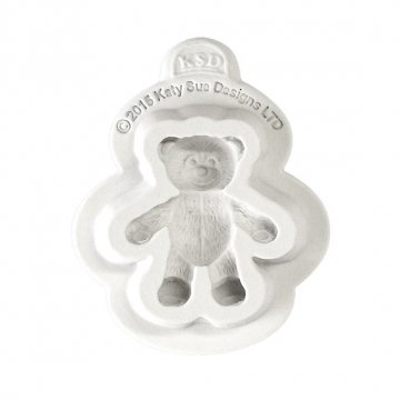 Baby Teddy Bear Mold Cake Decorating, Cupcakes, Sugarcraft and Candies (Bear Mold Teddy)
