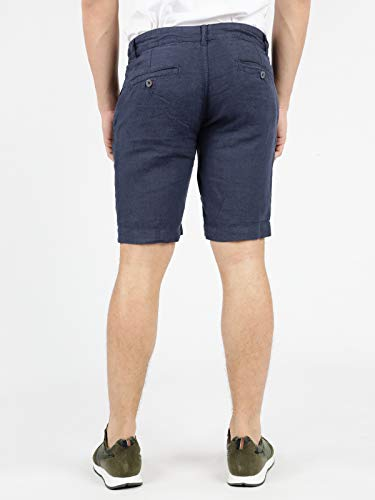 Bermuda Blu style B In Lino ORYxqw