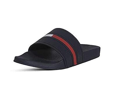 2d1dcee6f Tommy Hilfiger Men s Slip ON Sandals Ennis Dark Blue ...