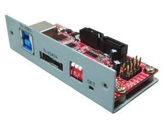 Oodelay USB 3.0 + eSATA III 6Gbps to x2 HDD Port Multiplier RAID Controller