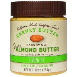 Barney Butter, Bare Almond Butter, Crunchy, 10 oz (284 g)(pack of 2)