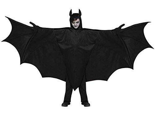 Fun World Kid's Wicked Wing Bat Children's Costume, Multicolor, One Size -