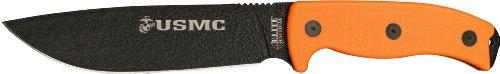 Elite Tactical US Marines M-1021OR Fixed Blade Knife, 12-Inch, Orange