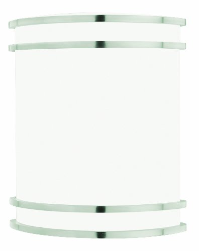 Thomas Lighting SL746078 Parallel 1-Light Lamp in Brushed Nickel Vanity Wall Sconce,