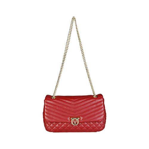 Valentino Margaritas - Bolso baguette Mujer Rojo - Rot (ROSSO)