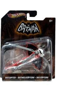 MATTEL HotWheels `BATMAN` BAT COPTER マテル ホットウィール 「バットマン」 バットコプター オリジナルTVバージョンの商品画像
