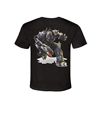 Transformers The Last Knight Movie T-Shirt Bumblebee Optimus Prime Megatron (Large, Bumbleebee)