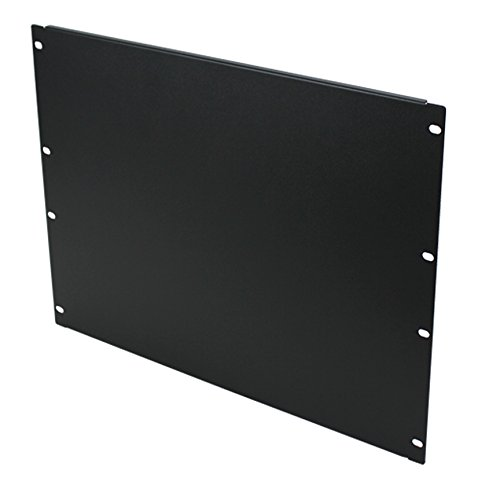 Navepoint Blank Rack Mount Panel Spacer For 19-Inch Server Network Rack Enclosure Or Cabinet Black (8U) by NavePoint