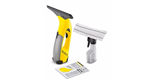 KARCHER WV2 Window Vac + Window Cleaning Kit (Spray Bottle and Micro Fibre Pad)