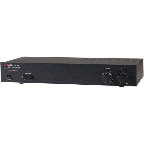 AudioSource 2-Channel Bridgeable Stereo Power Ampl...