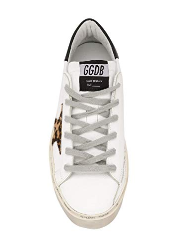 Golden Womens in G34ws945c2 Goose Sneakers bianca pelle wr8Uwq5A