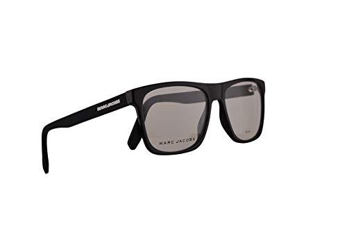 Marc Jacobs Marc 360 Eyeglasses 54-17-150 Black White w/Demo Clear Lens & Rubber Temples 80S Marc360