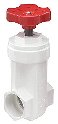 Gate Valve, 1-1/2 In., PVC, 140 Deg F from NDS