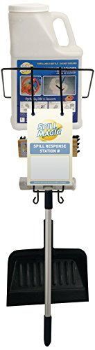 (Spill Magic SM1SRSKIT Spill Response Station Kit with Filled Absorbent Powder Bottle)