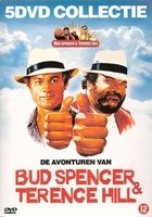 Bud Spencer & Terence Hill Collection (Part 1) - 5-DVD Box Set ( Crime Busters / Blackie the Pirate / Odds and Evens / Who Finds a Friend Finds a Tr [ NON-USA FORMAT, PAL, Reg.2 Import - Netherlands ]