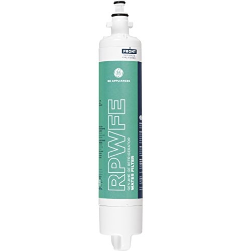 GE RPWFE Refrigerator Water Filter (Best French Door Refrigerator With Water Dispenser)
