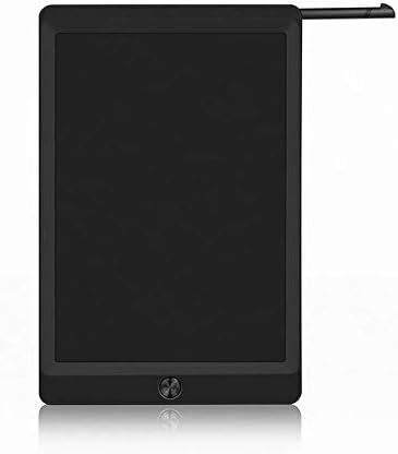 LKJASDHL LCDタブレット10インチの子供の落書きの絵画の小さい黒板ライトは草案板の電子板の黒板のペンできます (色 : 黒)