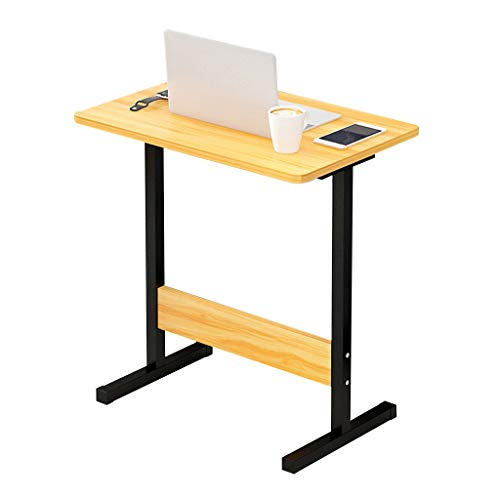 Laptop Desk Yellow Laptop Tray Removable Computer Bracket Notebook Table MDF Material Desk for Sofa/Bedroom / ()