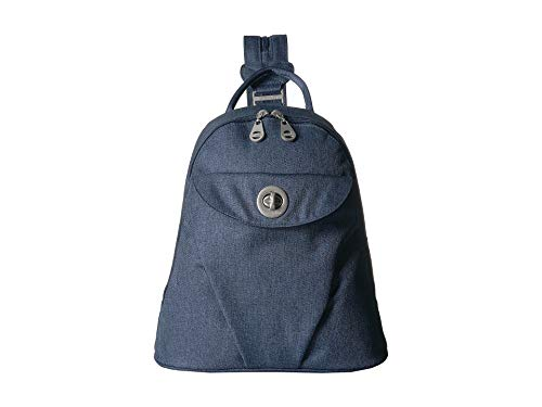 Baggallini Women's New Classic Dallas Convertible Backpack Steel Blue One -