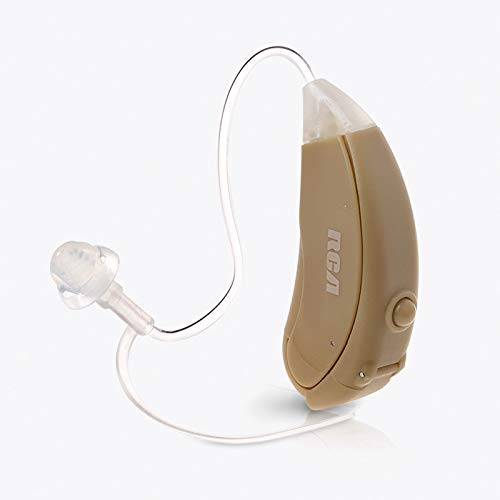 Hearing Amplifier with Batteries for Adults, Seniors and Children - RCA Symphonix Digital Personal Sound Amplifier, Hearing Device and Aid for Listening, with All Accessories for Single Ear