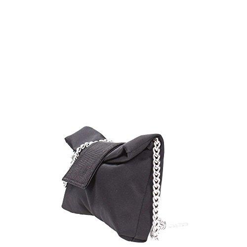 MELLUSO - Bolso al hombro para hombre gris Platino negro