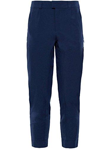 Face W Softshell Pantaloni North In Cropped Inlux Blu The aTxR5qv
